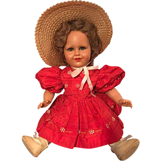 Bonomi Shirley Temple!!! Italian doll 1950s