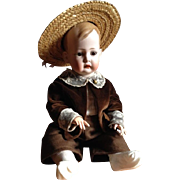 Antique German Bisque Character Doll Tommy Tucker BY Kley & Hahn