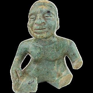 Pre Columbian Jade Figure