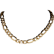 Solid 14K Yellow Gold 22 Inch Chain! 24.9 Grams