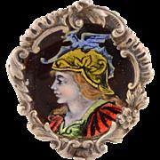 Saint George Enamel Ring