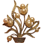 Deco-Style Marvella Brooch Pin