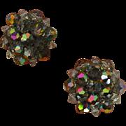 Vintage LAGUNA Crystal Earrings