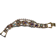 AB Rhinestone GLAM Bracelet
