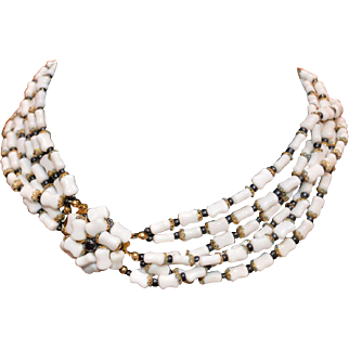 1967 Christian Dior Beaded Necklace