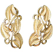 CORO Gold Tone Earrings