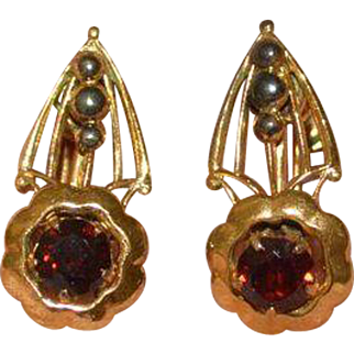 Vintage Gold Filled Earrings