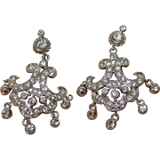 NOLAN Miller Rhinestone Chandelier Earrings