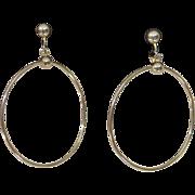 MARINO Dangle Hoop Earrings