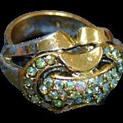 Rhinestone MOD Ring