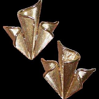 TRIFARI Folded Earrings