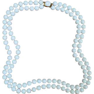 Hong Kong Double Stranded Bead Necklace