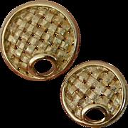 SARAH Cov Brooch Pin Duo