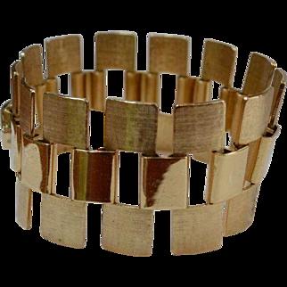 SARAH COV Mid Century Modern Link Bracelet