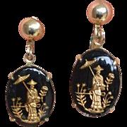 Asian Dangle Earrings