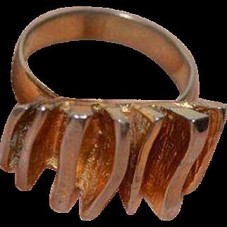 Mid Century Modern Ring