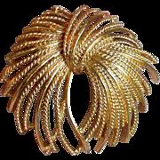 MONET Fringe Bow Brooch Pin