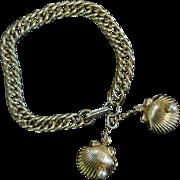 Vintage Clam Shell Bracelet