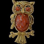 GERRYS Owl Brooch Pin