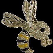 GERRYS Mini Bumblebee Brooch Pin