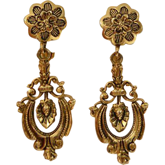 ACCESSOCRAFT Turn of the Century Dangle Earrings