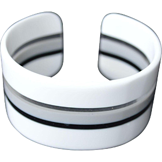 1960's Modern Cuff Bracelet