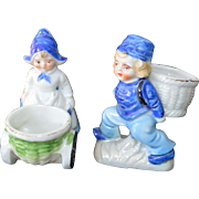 JAPAN Dutch Boy and Girl Figurines