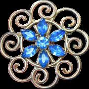 Tru-Kay 12 KT GF Brooch Pendant