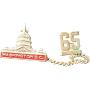 Wash. DC Vintage Class Pin