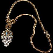 TRIFARI Waterfall Dangle Necklace
