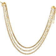 MONET Triple Strand Necklace