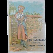 Victorian Trade Advertising Card