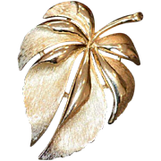 TRIFARI Leaf Brooch Pin