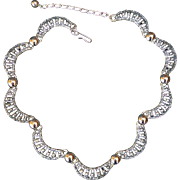 NAPIER Modernist Vintage Necklace