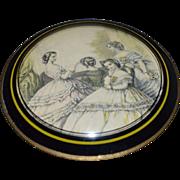 Victorian Style Print