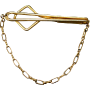 SWANK Tie Clasp with Chain