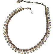 AB Rhinestone CORO Necklace
