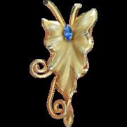Vintage Stylized Flower Brooch Pin