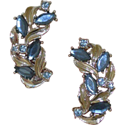 Sarah Coventry Rhinestone Earrings