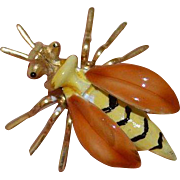 JJ Vintage Wasp Brooch Pin
