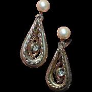 VOGUE JLRY Vintage Dangle Earrings