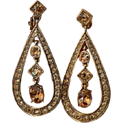 MONET Double Dangle Earrings