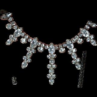 Rhinestone Necklace Extravaganza