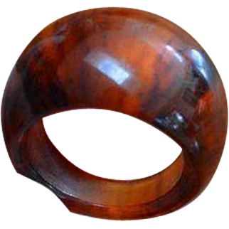 Faux Tortoise Shell MOD Ring