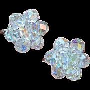 Laguna Crystal Cluster Earrings