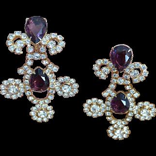K.J.L. Dangle Earrings