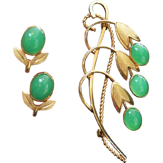 SULTAN Earring and Brooch Set