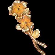 AUSTRIA Daffodil Brooch Pin