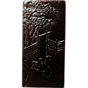 Dark red Old Chinese Shoushan Stone seal