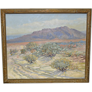 Vintage Desert Landscape c.1950's